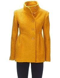 Giallo Cotta Abbigliamento E Giacche it Lana Cappotti Amazon txIzFE 0982e8d9a12