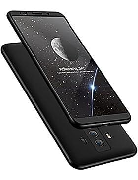 Huawei Mate 10 Pro Cover, Mate 10 Custodia 360 Gradi Ultra Sottile Cassa 3 in 1 Duro PC Case Rigido Elegante Shock-Absorption...