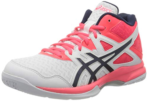 ASICS gel task mt, scarpe da pallavolo uomo, bianco (whiteblue print 100), 46.5 eu