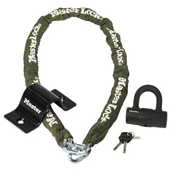 Master Lock 8273EURDAT Kit antivol avec mini-chaîne et cadenas