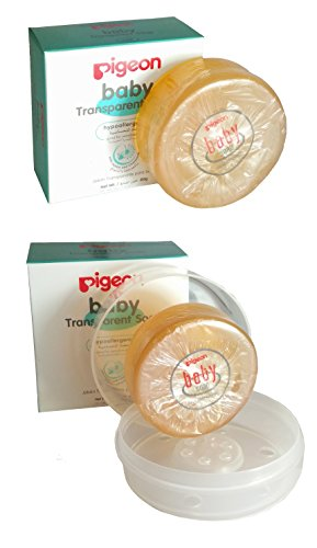Pigeon Baby Transparent Soap With case and Without Case(Combo Pack of 2)