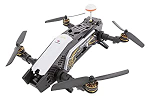 XciteRC 15003800FPV Racing Furious 320RTF Quadcopter with Full HD Camera, GPS, OSD, Battery, Charger and Devo 10Transmitter, White by XciteRC