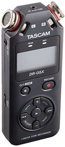 Tascam DR-05X Tragbarer Audiorekorder
