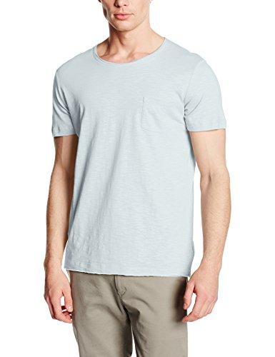Stedman Apparel Herren T-Shirt Shawn Oversized Slub Crew Neck/st9450 Blau - Blue (Powder Blue)