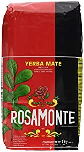 Yerba Mate Rosamonte (With stems) (1x1Kg)