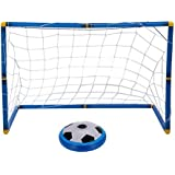 Multi Surface Hovering Indoor Air Cushion Floating Soccer Ball With Led Lights