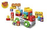 Vtech 80-604804 BlaBlaBlocks - Lastwagen Bauklötze Bauspielzeug, bunt