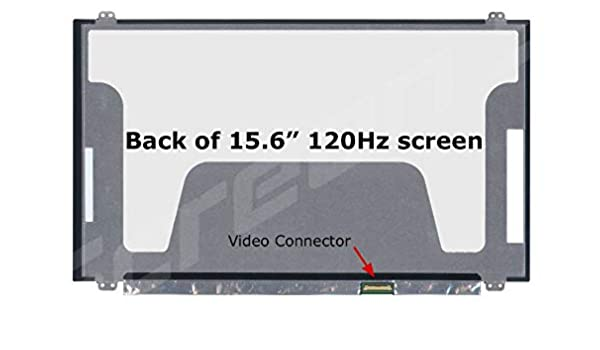 UK Dispatch For Acer Nitro 5 AN515-51-5048 MSI GT62 GE63 MSI GS63VR 7RG-078US 15.6 Laptop IPS Screen Display N156HHE-GA1 120Hz