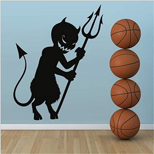 schwarz Harpoon Halloween Wand passen gemütlich vor dem Hintergrund der Möbel. Kann Kunst Wandbilder für Schlafzimmer Wohnzimmer Büro Familie Kindergarten Badezimmer ()
