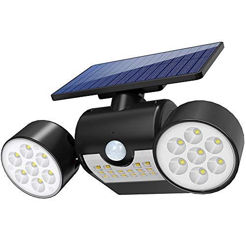 Especificación: Panel solar: 1.5W, 17% de eficiencia. Batería de iones de litio: 18650 2000mAh LED: 30PCS SMD2835 Lúmenes: 120 Tiempo de carga: 6-8h Tiempo de trabajo: 8-10h Impermeable: IP65 Dimensión: Tamaño del producto: 14.8 * 9 * 7.7 cm / 5.8 * ...