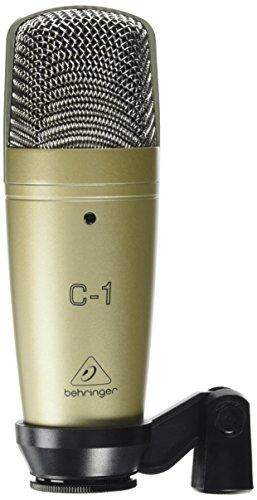 Behringer C-1 - Micrófono de condensador (de estudio), color dorado