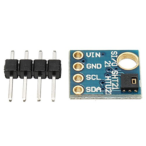Ils - 3 Stücke GY-21 HTU21D Feuchtigkeitssensor mit I2C Schnittstelle für Arduino Industrie Hohe Präzision