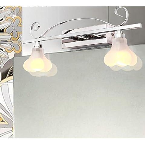tydxsd einfach Spiegel Spiegel Bad Badezimmer Moderne LED Deckenleuchte headlight