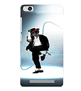 PrintVisa Dance Michael Jackson 3D Hard Polycarbonate Designer Back Case Cover for Xiaomi Redmi 3S