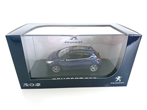 Peugeot 208 3p BLEUE 1/43 NOREV réf: 472774
