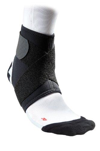 Mcdavid - Supporto per caviglia con laccio, nero (nero), S