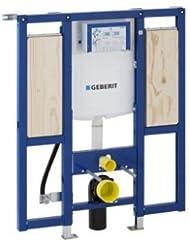 Geberit Duofix Bâti-support 111,375,00.5-support avec réservoir encastré Sigma de 12 cm UP320) (pour handicapés avec barres de soutien