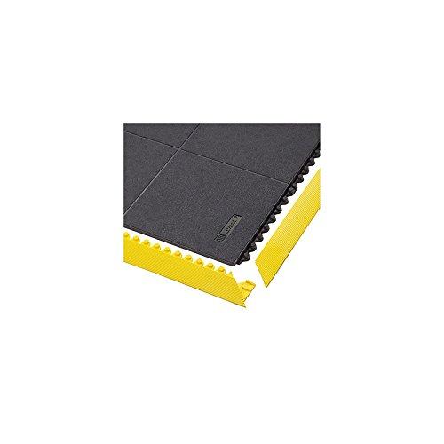 Notrax Bodenplatten-Stecksystem, Naturgummi, ESD geschlossen - LxBxH 910 x 910 x 19 mm - schwarz - Arbeitsplatzmatte Arbeitsplatzmatten Bodenbelag Bodenmatte Gummimatte Sicherheitsmatte -