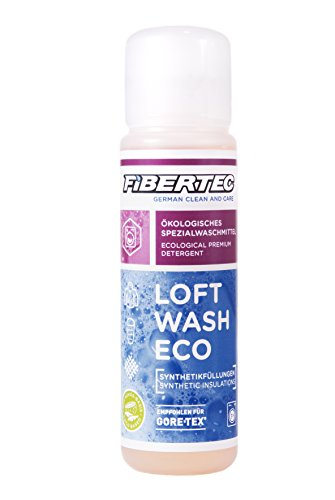 Fibertec Loft Wash Eco Waschmittel, transparent, 100 ml