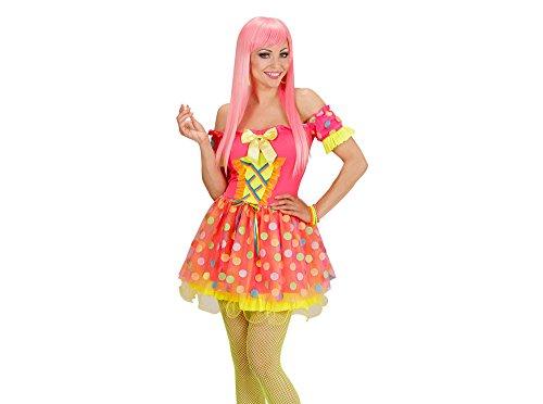 Widmann 49194 - Erwachsenenkostüm Candy Girl, Kleid und Lutscher