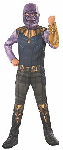 Avengers - Thanos Kostüm, Mehrfarbig, M (Rubie's 641055-M)