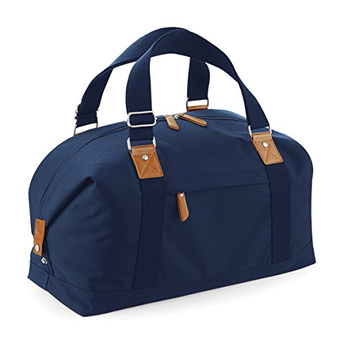 Übernachtung Reisetasche von BagBase - 26 Liter Fassungsvermögen Black/ Black