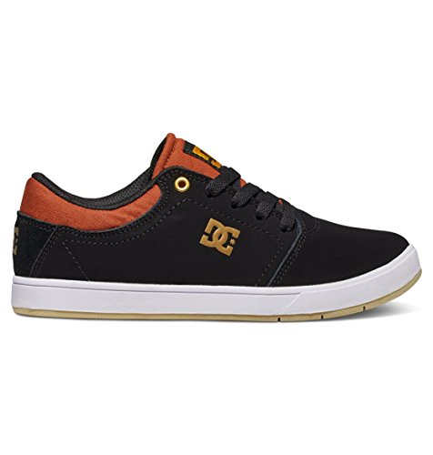 Dc Shoes Crisis - Zapatos Para Chicos (Niños/Kids) BLACK/BROWN/WHITE