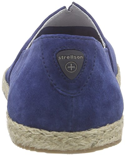 Strellson Sandy Slipper Suede, Mocassins Homme Bleu (401)