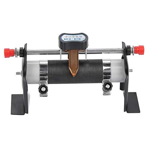 Acogedor 5A 50Ω Schieberegler, Elektrischer Schieberegler, Experimentierwerkzeuge für physikalische Elektrizität, Strom/Spannungsregler, für Stromkreise unter 50 Hz, 380 V unter 440 V Gleichstrom.
