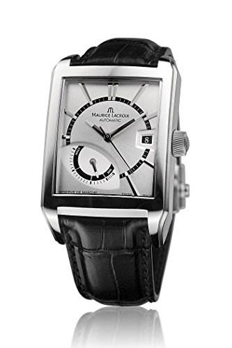 maurice-lacroix-mens-black-calfskin-band-steel-case-automatic-silver-tone-dial-watch-pt6217-ss001-13