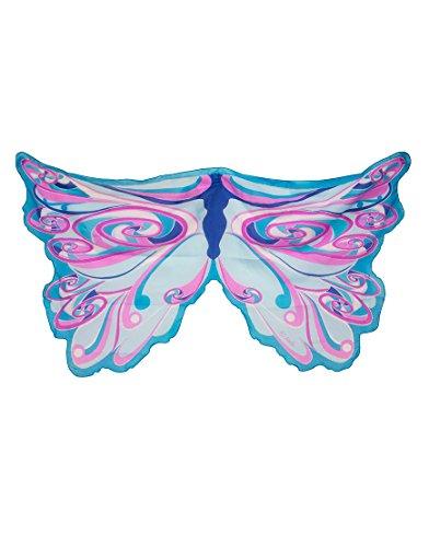 71 Wings, Flügel, Blue Fairy Rainbow, Regenbogenfee blau ()