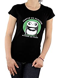 Goeland - T-Shirt Sauvez un Bambou (Femme)