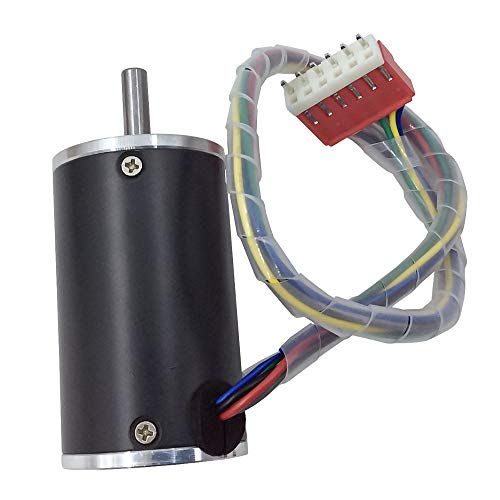 DC Brushless Fan Motor 12V 24V 2000RPM/3000RPM/4000RPM/5000RPM Optionaler Kleiner Motor mit Eingebautem Antrieb für DIY Replace (2000 RPM, 24V) (12v Dc-fans)