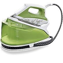Rowenta DG7550+51 2200W 1.2L Suela de acero inoxidable Verde - Centro de planchado (2200 W, 55,2 bar, 1,2 L, 260 g/min, 100 g/min, Suela de acero inoxidable)