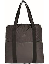adidas Women ID Tote Bag - Black/Black/Carbon, 17 x 38 x 44 cm