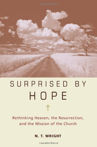 Surprised by Hope Rethinking Heaven, the Resurrection, and the Mission of the Church by N. T. Wright [Harper One,2008] (Hardcover)
