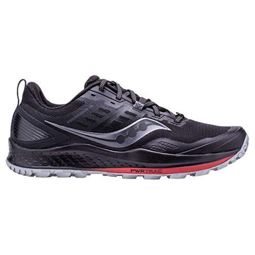Saucony Peregrine 10 Zapatillas para Correr sobre Camino de Tierra o Montaña con Soporte Neutral para Hombre Negro 45 EU
