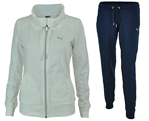 PUMA DAMEN TRAININGSANZUG Essentials Poly Suit 831822 01