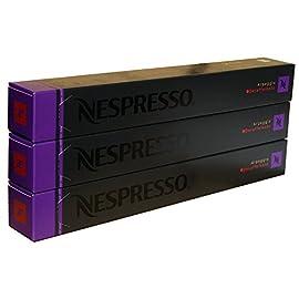 Nespresso Capsules – Arpeggio Decaffeinato – 30 Capsules, 3 Sleeves – New Decaf variety