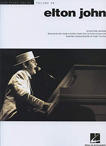 Elton John Jazz Piano Solo Series Volume 29