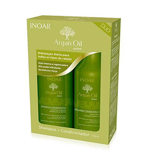 INOAR Duo Argan Oil Shampoo and Conditioner Kit 250 ml