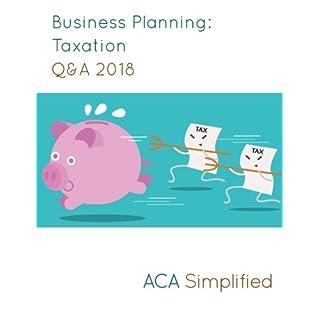 Business Planning: Taxation Q&A 2018