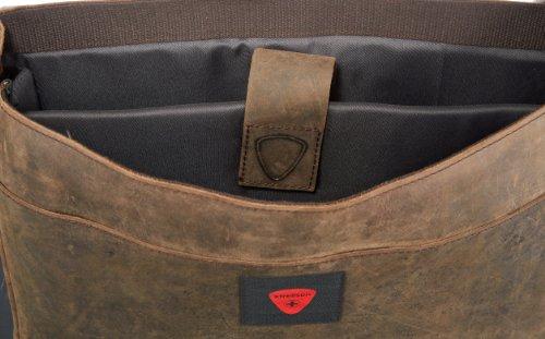 Strellson Richmond Messenger LH 4010001163 Herren Umhängetaschen 39x31x9 cm (B x H x T), Braun (dark brown 702) Braun (dark brown 702)