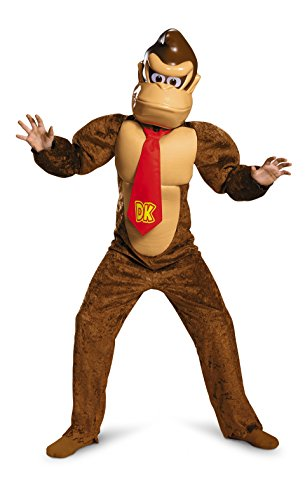 Disguise Donkey Kong Deluxe Super Mario Bros. Nintendo Costume, ()