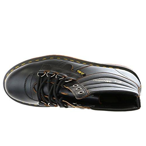 Dr.Martens Mens Kamin Leather Boots Black
