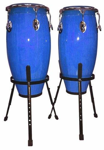 Performance Percussion PP10BL Congas mit Ständer naturfarben