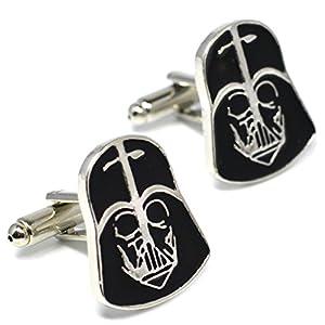 Darth Vader Maske Manschettenknöpfe–Star Wars Neuheit Zubehör