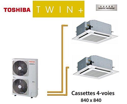 CONJUNTO TWIN TOSHIBA CINTAS 4-VOIES 840X 840SDI