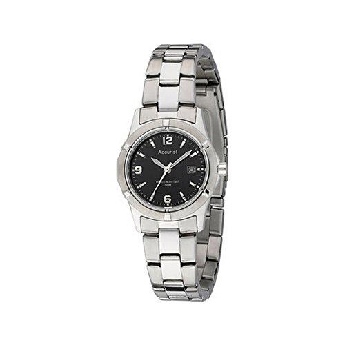 Accurist LB1550B - Reloj analógico de cuarzo para mujer
