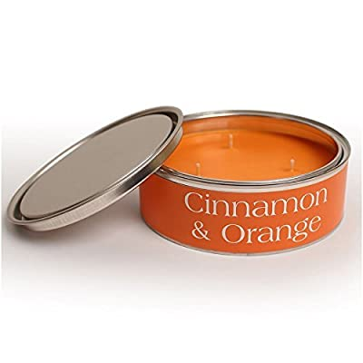 Pintail Candles Large 3 Wick Scented Candle Tin - Cinnamon & Orange from Pintail Candles